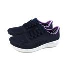 Crocs 休閒運動鞋 深藍色 女鞋 205234-4SP no057