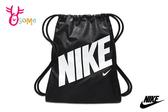 NIKE KIDS GYMSAC 親子包 訓練健身袋 素口輕便袋 A0521#黑色◆OSOME奧森鞋業