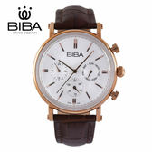法國 BIBA 碧寶錶 絕色系列 強化巨蛋玻璃 石英錶 B753S026W 白色 - 43mm