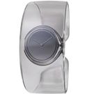 ISSEY MIYAKE三宅一生O系列透明手鐲腕錶 VJ20-0100SD SILAW002Y 煙霧