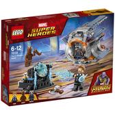 【LEGO 樂高 積木】LT-76102 超級英雄系列 索爾雷神浣熊火箭格魯特 Thors Weapon Quest