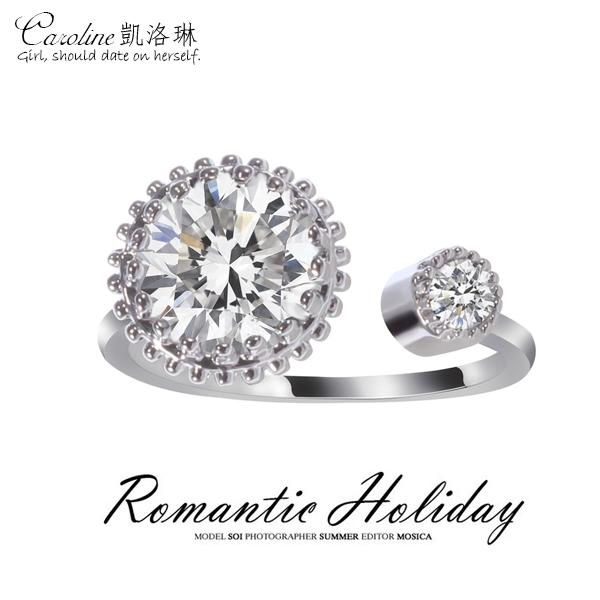 《Caroline》★【情節】甜美魅力、高雅大方設計配飾時尚戒指68385