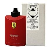 FERRARI 紅色法拉利男性淡香水 125ml-Tester包裝