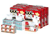 Benibear邦尼熊3合1家庭用紙組合箱130抽x60包+120抽x4包+320抽x6包