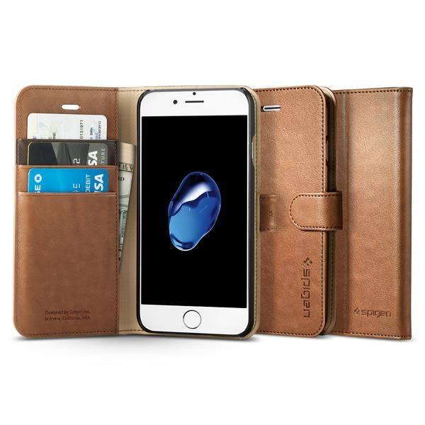 【贈9H玻璃貼】Spigen 韓國 SGP iPhone 8 7 4.7吋 Wallet S 側掀式錢包手機保護套 手機殼 i7 i8