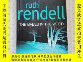二手書博民逛書店16開英文原版罕見The Babes in the WoodY281995 Ruth Rendell QPD