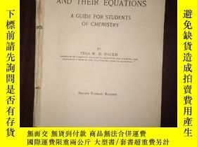 二手書博民逛書店民國化學罕見1933年 chemical reactions a
