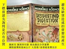 二手書博民逛書店disgusting罕見digestion 惡心的消 化.Y200392