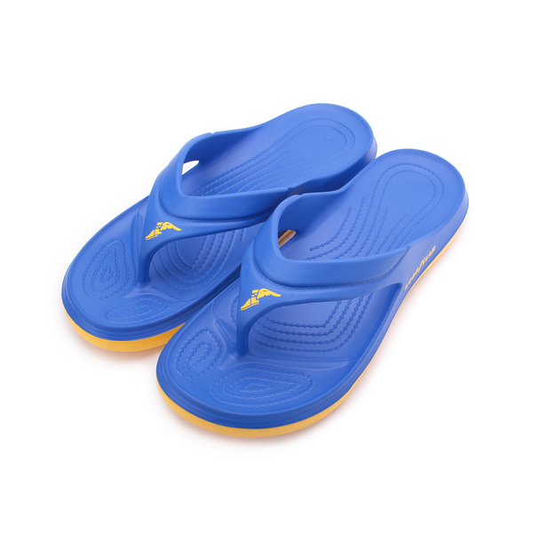 GOODYEAR 雙密度運動夾腳拖鞋 藍 GAML93766 男鞋 鞋全家福