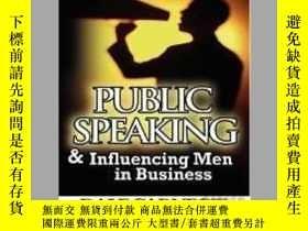 二手書博民逛書店Public罕見Speaking & Influencing Men In BusinessY405706 D