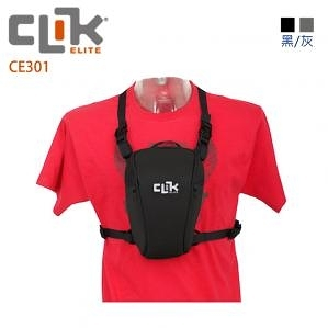 美國【CLIK ELITE】CE301 Standard SLR Chest Carrie 標準單眼三角胸包