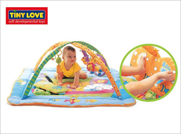 TINY LOVE 特大豪華聲光遊樂毯(Gymini Total Playground Kick & Play )【德芳保健藥妝】
