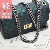 包包配件鏈條高檔不褪色可拆卸粗鏈子單肩斜跨包帶單買百搭金屬鏈「時尚彩虹屋」