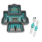 《 KIDS FUNWARES》造型兒童餐盤組(機器人) / JOYBUS玩具百貨