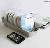 光盤盒 創意CD盒包大容量DVD光碟收納盒碟片包盒帶鎖盒子【星時代生活館】