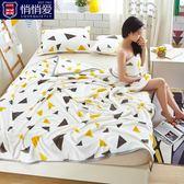 冬季珊瑚絨毛毯法蘭絨毯子小被子單雙人床單學生加厚宿舍午睡蓋毯     韓小姐の衣櫥