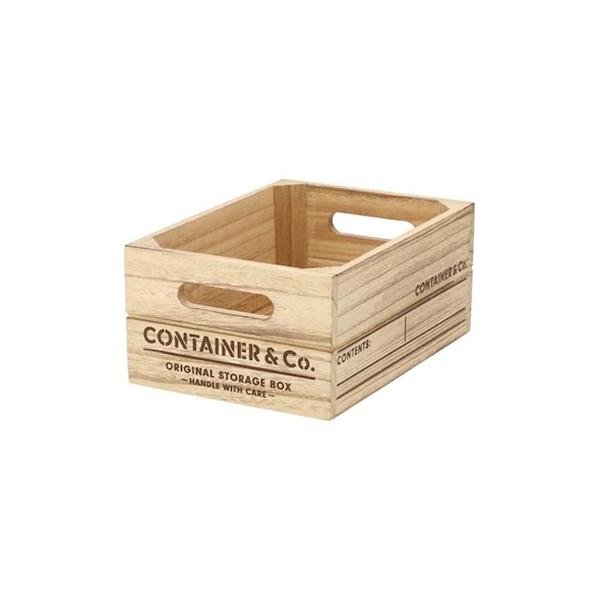 木製收納盒 SHACK2 窄低型 四分之一型 NA NITORI宜得利家居