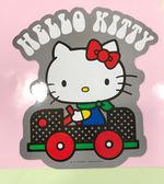 【震撼精品百貨】Hello Kitty 凱蒂貓~凱蒂貓 HELLO KITTY 車用大磁鐵-車