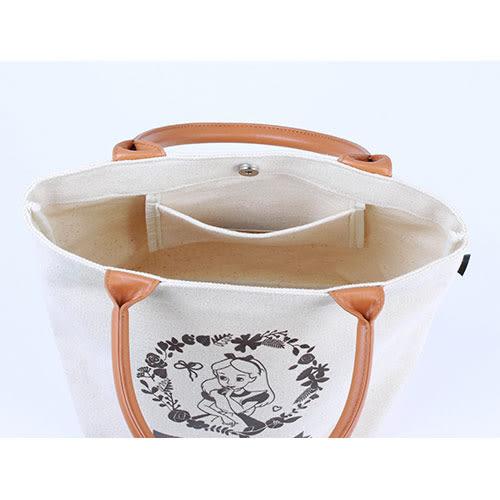 《LEing》愛麗絲復古帆布迷你提袋★funbox生活用品★_RD00076