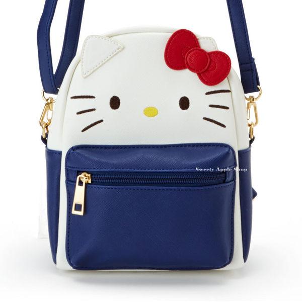 日本限定 HELLO KITTY 2WAY 時尚 小 後背包 / 側肩包
