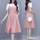 洋裝流行新款夏假兩件顯瘦甜美裙子仙女超仙森系長裙潮 可然精品