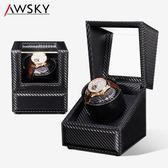 手錶收藏盒品質 搖錶器自動機械錶上弦搖擺器 手錶盒 電動旋轉晃錶xw  快速出貨