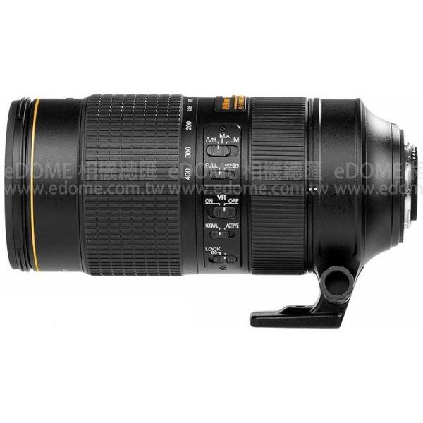 NIKON AF-S 80-400mm F4.5-5.6 G ED VR 防手震 贈3千元禮券 (24期0利率 國祥公司貨) 打鳥鏡頭 飛羽攝影