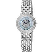 Olympianus 魅力晶鑽薄型女錶-銀 5642LW