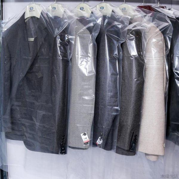 干洗店一次性套衣服透明防塵罩西服罩大衣防塵袋衣物收納袋掛衣袋MUYOU-B529