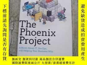 二手書博民逛書店The罕見Phoenix Project:A Novel About IT, DevOps, and Helpin