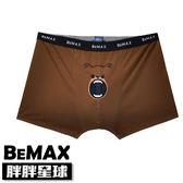 【胖胖星球】中大尺碼‧趣味小熊印花平角內褲 XL~6XL‧加大【79103】