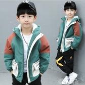 童裝男童棉衣2019新款加絨加厚保暖冬季外套兒童中大童男孩棉服 依凡卡時尚