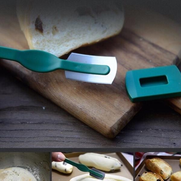 面大師麵包割刀 歐式麵包刀 軟歐包整形刀 弧形割刀割紋刀 麵包割包刀 弧形麵包割刀【K154】