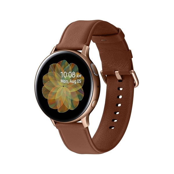 SAMSUNG Galaxy Watch Active2 GPS藍牙智慧手錶 不鏽鋼 44mm 送原廠夏日運動包組 神腦生活