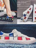 韓版潮流帆布鞋學生復古個性低筒鞋夏季小白鞋子 港仔會社