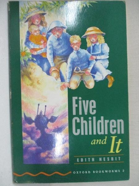 【書寶二手書T8/兒童文學_CM9】Five Children and It_Edith Nesbit, Diane Mowat, Jonathan Davis