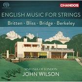 【停看聽音響唱片】【SACD】英國弦樂集 約翰.威爾森 指揮 倫敦市立交響樂團