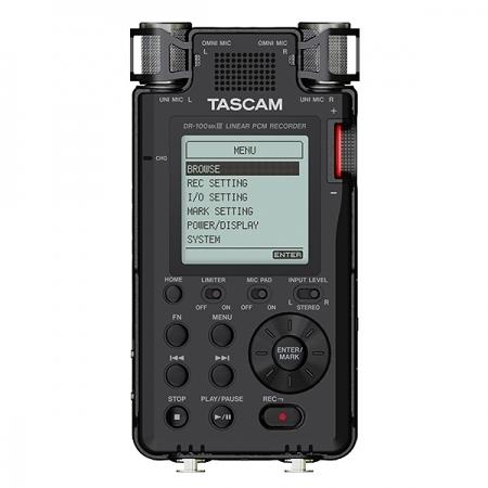 【聖影數位】TASCAM 達斯冠 DR-100 Mark III DR-100MK3 攜帶型線性數位錄音機
