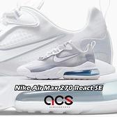 Nike 休閒鞋 Air Max 270 React SE 白 藍 灰 男鞋 大氣墊 運動鞋 【ACS】 CT1265-100