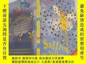 二手書博民逛書店rainbow罕見magic saffron the yellow fairy 彩虹魔術黃仙女藏紅花Y2003