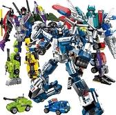 相容樂積木變形機器人金剛拼裝玩具益智男孩子7拼圖6-10歲8兒童 NMS滿天星
