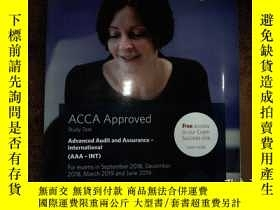 二手書博民逛書店ACCA罕見Advanced Audit and Assuran