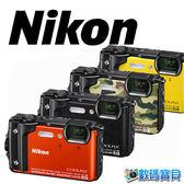 【送32G+清保組】 Nikon Coolpix W300 防水數位相機 【11/30前申請送原廠電池EN-EL12】 國祥公司貨