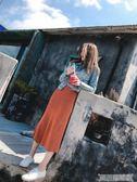 春秋新款韓版chic復古學生修身顯瘦長袖牛仔短外套女夾克上衣帥氣 科技藝術館