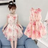 女童連身裙夏裝2019新款寶寶超洋氣小女孩裙子兒童雪紡公主裙 衣普菈