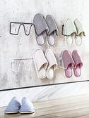 拖鞋架 浴室壁掛廁所衛生間壁掛式免打孔放墻上粘貼式掛架免釘鞋架