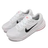 Nike 慢跑鞋 Air Zoom Structure 24 白 黑 女鞋 運動鞋 【ACS】 DA8570-100