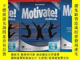 二手書博民逛書店Motivate!罕見Workbook Pack Level 4