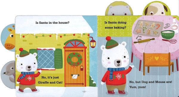 ROLY POLY LOOKS FOR SANTA CLAUS /硬頁操作書 《主題: 聖誕節》