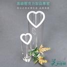 心型花瓶/花器 /愛心造型/創意透明瓶/...